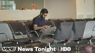 Download This Syrian Refugee Has Been Stuck In An Airport Transit Zone For More Than A Month (HBO) Video