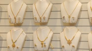 Download New Models Gold Short Necklace Designs Video