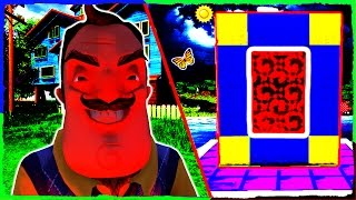 Download Minecraft HELLO NEIGHBOR - How to Make a Portal to ALPHA 4 Video