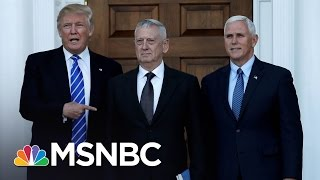 Download General James Mattis Top Contender For Defense Secretary | Morning Joe | MSNBC Video