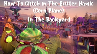 Download Plants vs Zombies GW2 *New* How to Glitch in The Butter Hawk (Corn Plane) In Backyard Video