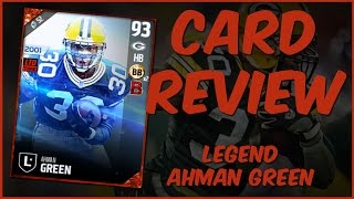 Download MUT 17 Card Review | Legend Ahman Green Gameplay + Card Review Video