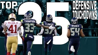 Download Top 25 Defensive Touchdowns of the 2018 Season! | NFL Highlights Video