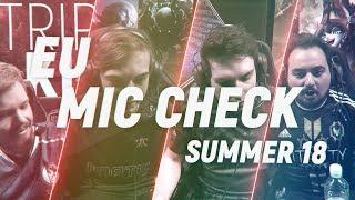 Download EU LCS Mic Check: Week 7 | Summer Split 2018 Video