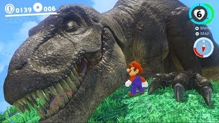 Download THERE'S DINOSAURS IN THIS GAME!? - Super Mario Odyssey Gameplay Video