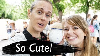 Download The CUTEST people in EUROPE! (Bratislava City Tour) Video