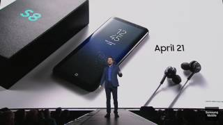 Download AKG earphone with Samsung Galaxy S8 & S8+ Video