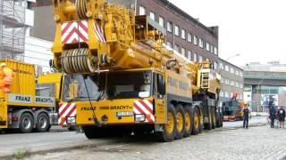 Download AC 1600 FRANZ BRACHT KG auf einer Baustelle in Hamburg Video