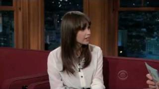 Download Felicity Jones on The Late Late Show with Craig Ferguson (12/21/2011) Video