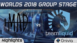 Download MAD vs TL Highlights Worlds 2018 Group Stage MAD Team vs Team Liquid by Onivia Video