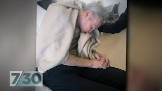 Download Shocking footage of restrained aged care residents prompts new regulations | 7.30 Video