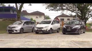 Download Proton Exora vs Perodua Alza vs Nissan Grand Livina - Roda Pusing Review Video