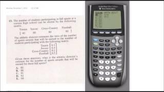 Download ACT Calculator Strategies TI-84+ Video