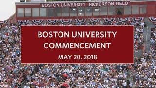Download Boston University Commencement 2018 Video
