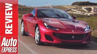 Download New Ferrari Portofino review - 591bhp California T replacement driven Video