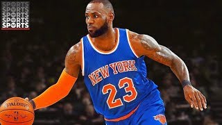 Download Will The New York Knicks Be LeBron's Next Team? Video