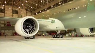 Download EVA Air - Time-lapse New 777-300ER Assembling and Painting Video