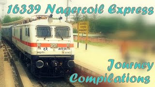 Download 16339 Nagercoil Express Full Journey Compilation Part - 3 Video