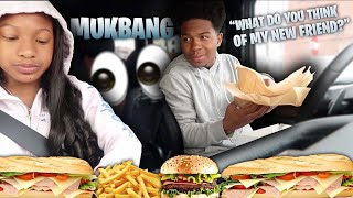 Download MY SISTER THOUGHTS ABOUT MY NEW FRIEND (the truth) *mukbang* Video