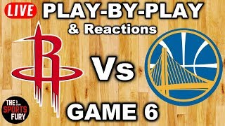Download Rockets vs Warriors Game 6 | Live Play-By-Play & Reactions Video