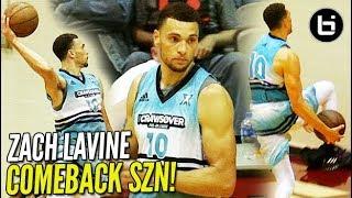 Download Zach Lavine AVERAGED 50 PPG at the Crawsover! Bulls Guard Ready for COMEBACK SZN! Video