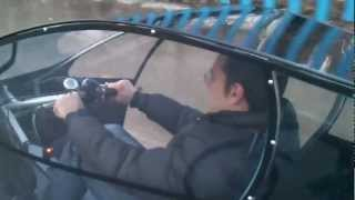 Download Electric assisted street legal two-seater cabin bicycle (trike) Video