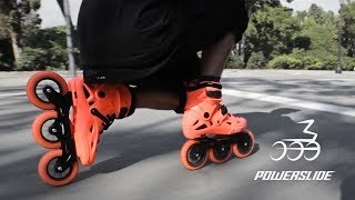 Download Mega - Nick Lomax on Powerslide Imperial Megacruiser 125 skates 🍊🍊🍊 Powerslide Inline skating Video