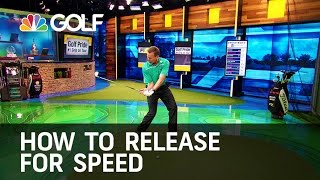 Download How To Release for Speed - The Golf Fix | Golf Channel Video