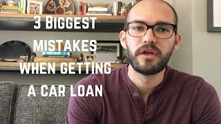 Download 3 biggest mistakes when getting a car loan Video