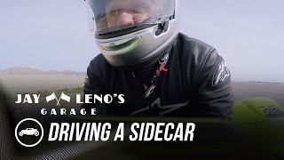 Download Jay Leno Drives A Sidecar For The First Time - Jay Leno's Garage Video
