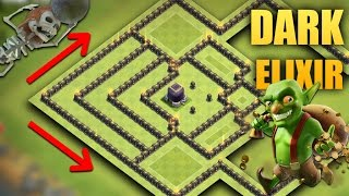 Download TH 9 (Town Hall 9) The Best Dark Elixir Base 2017 | Tested + Proof Replays | Clash Of Clans Video