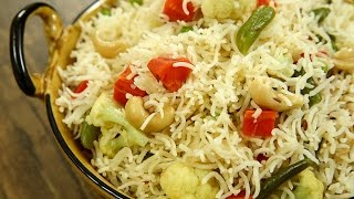 Download How To Make Vegetable Pulao | Quick & Easy Veg Pulao Recipe | Rice Recipe | Recipe by Varun Inamdar Video