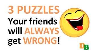 Download Impossible: 3 puzzles your friends will always get wrong! (with answers) Video