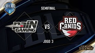 Download paiN x Red Canids (Jogo 3 - Semifinais) - Primeira Etapa CBLoL Video