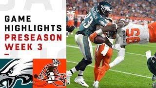 Download Eagles vs. Browns Highlights | NFL 2018 Preseason Week 3 Video