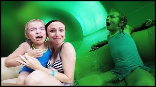 Download SHE'S NEVER RIDING THAT WATER SLIDE AGAIN! | Great Wolf Lodge Video