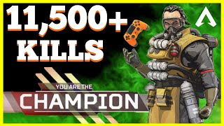 Download Merry Monday Miracles // 11,500+ Eliminations // Apex Legends Live // PS4 Gameplay Video