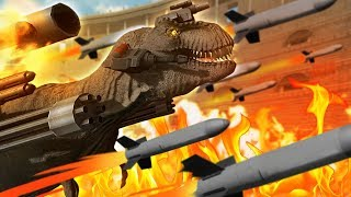 Download Fighting A Laser T-Rex | Beast Battle Simulator Video