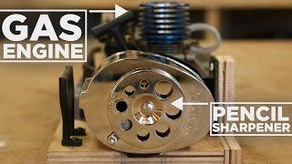 Download Nitro Engine Powered PENCIL Sharpener! Video