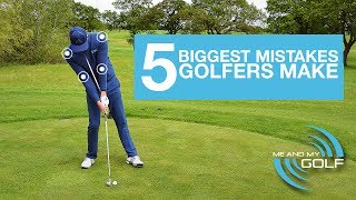 Download THE 5 BIGGEST MISTAKES THAT GOLFERS MAKE Video