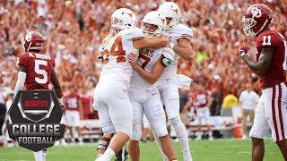 Download No. 19 Texas beats No. 7 Oklahoma on last-minute field goal | CFB Highlights Video