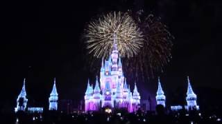 Download 4K Wishes FIREWORKS Spectacular w/ Holiday LIGHTS at Magic Kingdom, Disney World Video