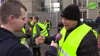 Download Gele Hesjes Den haag :''De NOS is een linkse klote omroep'' Video