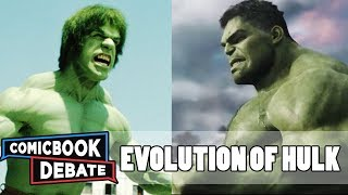 Download Evolution of Hulk in Movies & TV in 7 Minutes (2017) Video