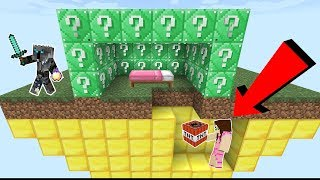 Download Minecraft: EMERALD LUCKY BLOCK BEDWARS! - Modded Mini-Game Video
