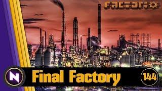Download Factorio 0.16 - Final Factory #144 OIL AND ARTILLERY Video