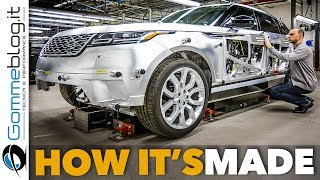 Download Range Rover VELAR Car FACTORY Production   HOW IT'S MADE and How To Build a Luxury SUV Manufacturing Video
