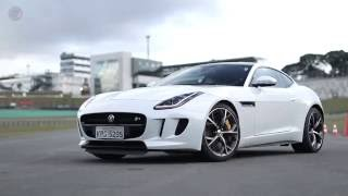 Download Jaguar F-Type Coupé R voa baixo em Interlagos [FULLPOWER Lap] Video