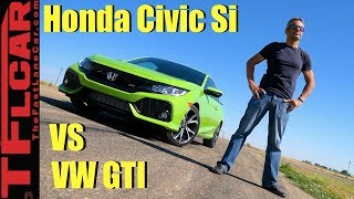 Download New Civic Si vs GTI: Which One Is Faster? Video