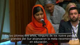 Download Malala pide cuentas por la falta de inversión en educación Video